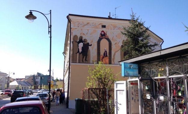 Oryginalny mural ozdobił ścianę rzeszowskiej kamienicy - Aktualności Rzeszów