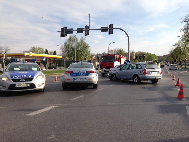 FOTO. Wypadek przy ul. Lubelskiej - Aktualności Rzeszów