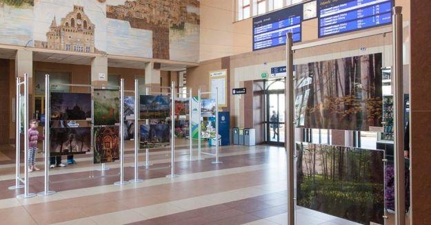 Wyjątkowa wystawa w hallu Dworca PKP - Aktualności Rzeszów
