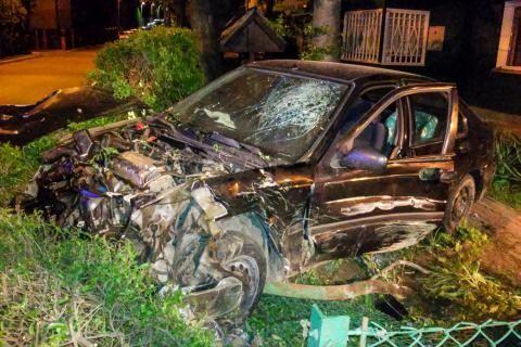 27-latek wjechał w ogrodzenie domu przy ul. Staroniwskiej. Był kompletnie pijany - Aktualności Rzeszów