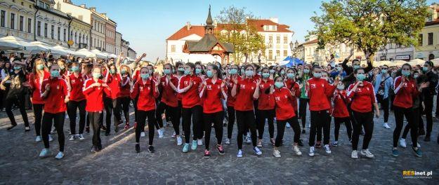 Pobili rekord. To był największy flash-mob w Rzeszowie - Aktualności Rzeszów