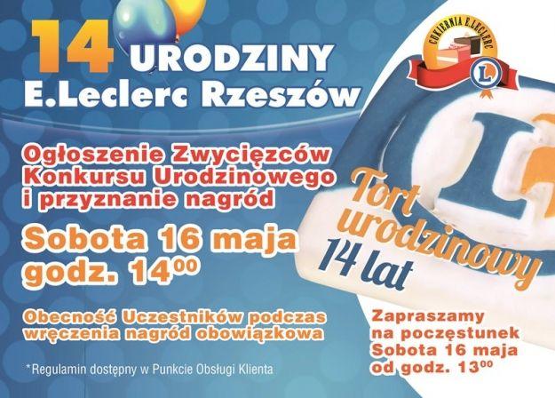 Wielki finał Konkursu 14-lecia E.Leclerc - Aktualności Rzeszów