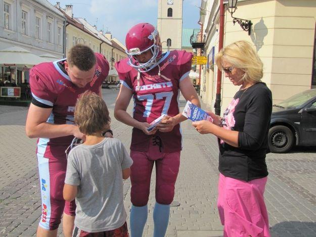 Futbol amerykański na stadionie Resovii - Aktualności Rzeszów