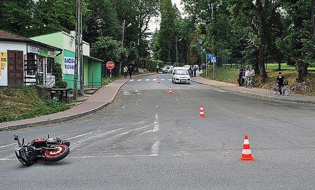 Tragiczny wypadek. Nie żyje 86-letni motocyklista  - Aktualności Podkarpacie