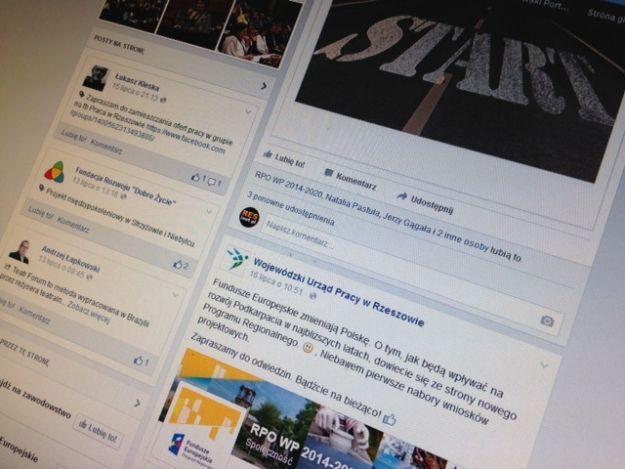 O sytuacji na rzeszowskim rynku pracy dowiesz się z Facebooka - Aktualności Rzeszów