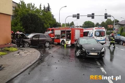 3 osoby ranne w wypadku na ul. Lwowskiej  - Aktualności Rzeszów