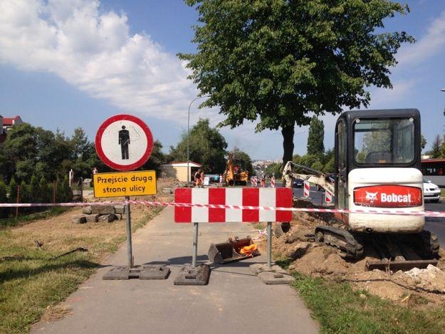 (FOTO) Ruszyły prace przy budowie połączenia ul. Lwowskiej z ul. Twardowskiego - Aktualności Rzeszów