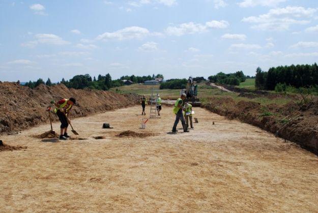 (FOTO) Zobacz, jak przebiega budowa drogi ekspresowej S19 - Aktualności Rzeszów