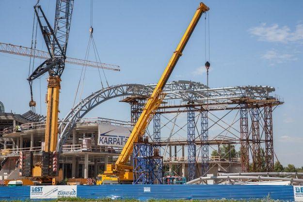 (FOTO) Następny etap budowy Centrum Wystawienniczo-Kongresowego - Aktualności Rzeszów