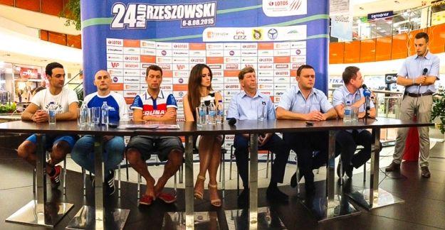 FOTO. Zdjęcia z konferencji prasowej 24. Rajdu Rzeszowskiego - Aktualności Rzeszów