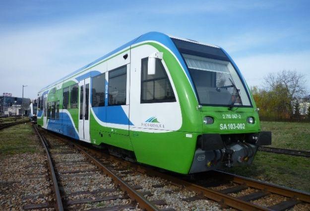 Dziś pierwsze kursy nowego pociągu z Rzeszowa do Boguchwały - Aktualności Rzeszów