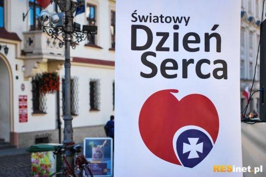 Światowy Dzień Serca w Rzeszowie. Darmowe porady, spotkania z lekarzami i rozrywka - Aktualności Rzeszów