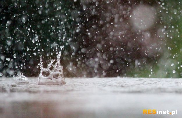 Uwaga! Dziś w nocy intensywne deszcze i burze - Aktualności Podkarpacie