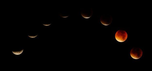 Zaćmienie Księżyca widziane z ul. Wieniawskiego - Aktualności Rzeszów