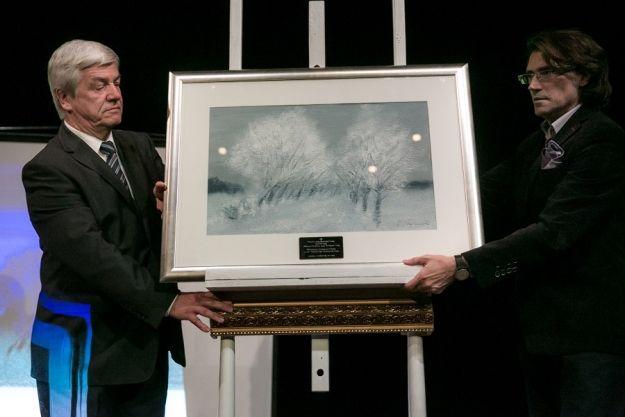 Rekord na aukcji w Rzeszowie. Obraz od prezydenta sprzedano za 10 tysięcy zł - Aktualności Rzeszów