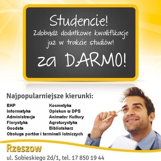 Studiuj, ucz się i … zarabiaj! - art. sposn.
