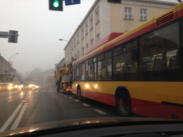 Gigantyczne korki w centrum Rzeszowa - Aktualności Rzeszów