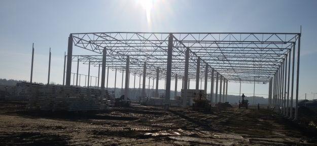 (FOTO) Zobacz, jak powstaje inwestycja za 110 mln zł. Budują innowacyjne centrum logistyczne - Aktualności Podkarpacie
