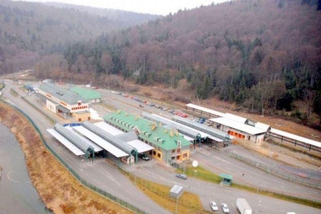 Od dziś utrudnienia na przejściu granicznym w Krościenku - Aktualności Podkarpacie