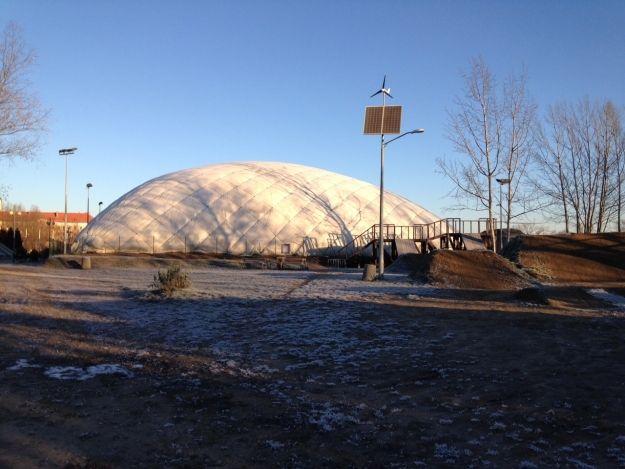 Skatepark ponownie zadaszony - Aktualności Rzeszów