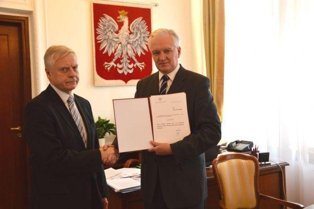 Rektor UR oficjalnie wiceministrem Nauki i Szkolnictwa Wyższego - Aktualności Rzeszów