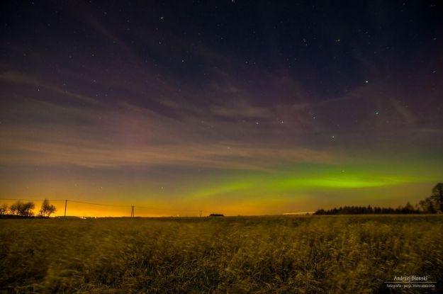 FOTO. Zorza polarna w okolicach Rzeszowa - Aktualności Rzeszów