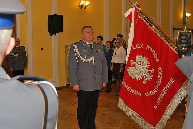Komenda Wojewódzka Policji w Rzeszowie ma nowego inspektora - Aktualności Rzeszów