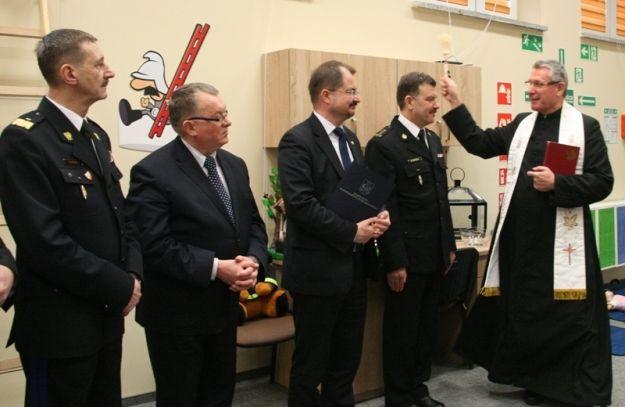Dzieci będą uczone z zakresu ochrony przeciwpożarowej. Powstała specjalna sala edukacyjna - Aktualności Podkarpacie