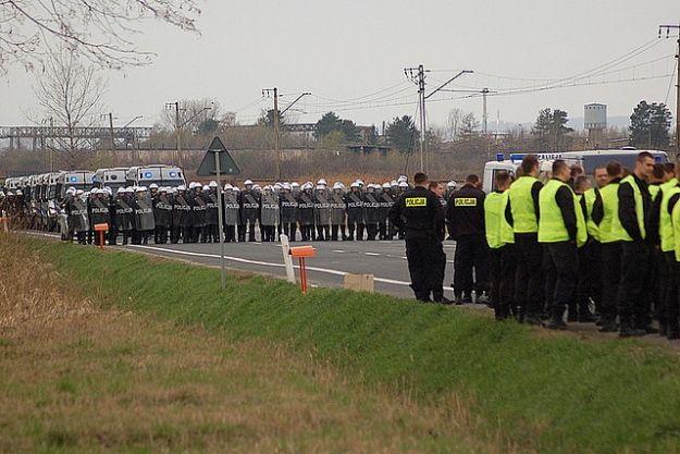 Policyjne ćwieczenia przed EURO 2012 w Medyce - Aktualności Podkarpacie