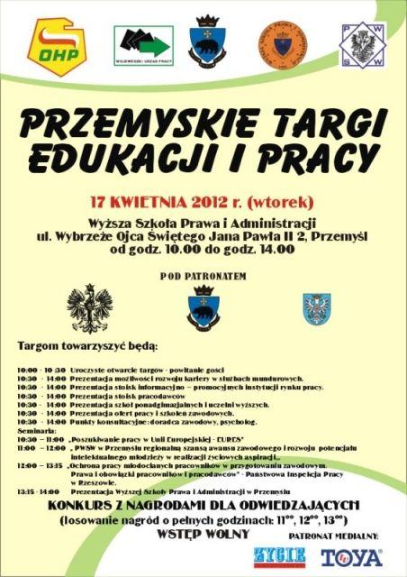 Przemyskie Targi Edukacji i Pracy - Aktualności Podkarpacie