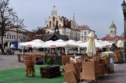 Wiosna - ogródki piwne na rynku w Rzeszowie  - Aktualności Rzeszów