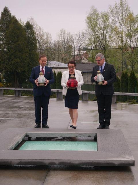 Minister Edukacji Narodowej z wizytą w Muzeum im. Rodziny Ulmów - Aktualności Podkarpacie