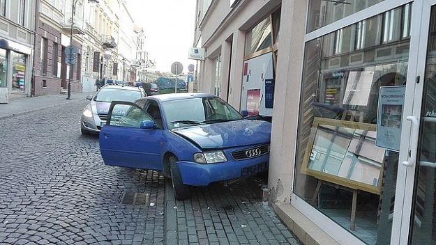 Pijany kierowca wjechał w budynek na ul. Matejki - Aktualności Rzeszów