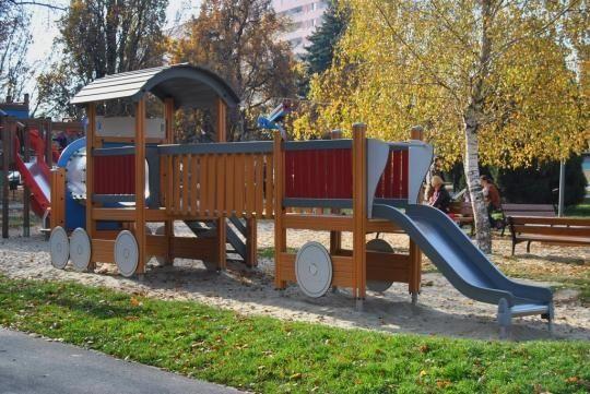 Nowy plac zabaw w Rzeszowie - Aktualności Rzeszów