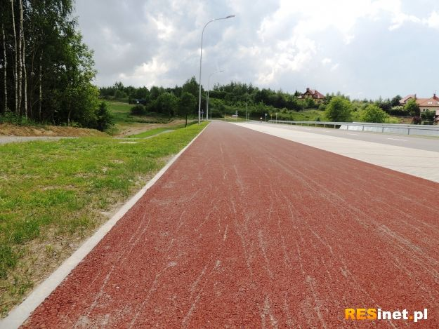 Pierwsza taka ścieżka rowerowa w Rzeszowie - Aktualności Rzeszów