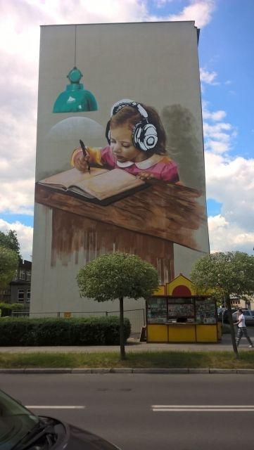 Nowy mural w centrum Rzeszowa - Aktualności Rzeszów