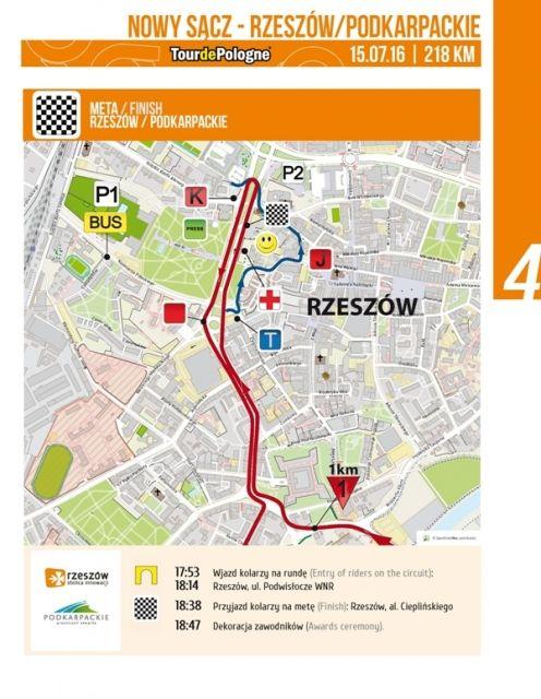 Duże utrudnienia w związku z Tour de Pologne. Trasa przejazdu, lista zamkniętych dróg, zmiany w kursach autobusowych  - Aktualności Rzeszów