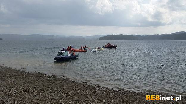 Interwencja na Jeziorze Solińskim. Tonęła łódź z żeglarzami - Aktualności Podkarpacie