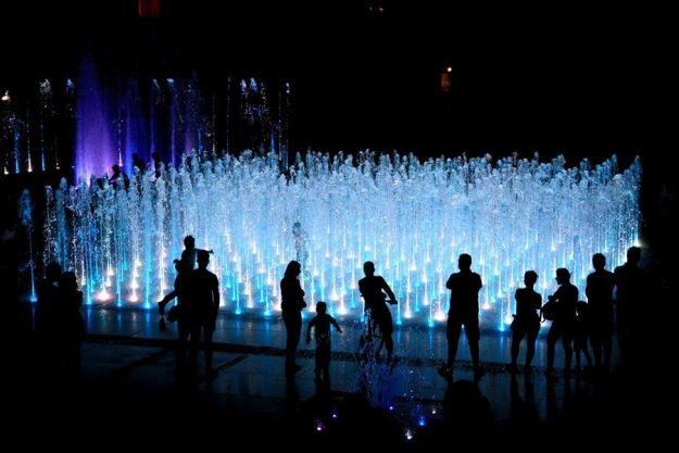 Zmiana terminu pokazu specjalnego fontanny multimedialnej - Aktualności Rzeszów