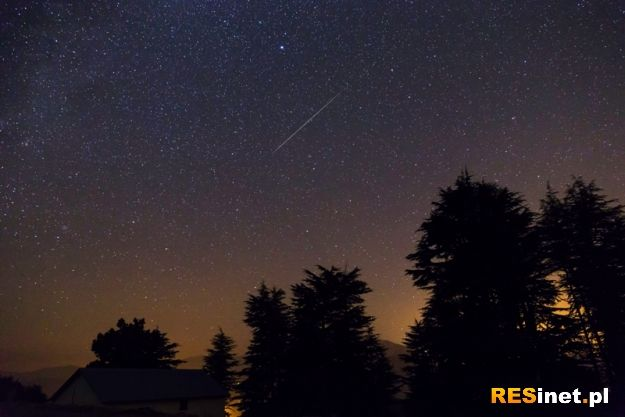 Deszcz meteorów na Podkarpaciu. Skąd najlepiej obserwować spadające gwiazdy? - Aktualności Podkarpacie