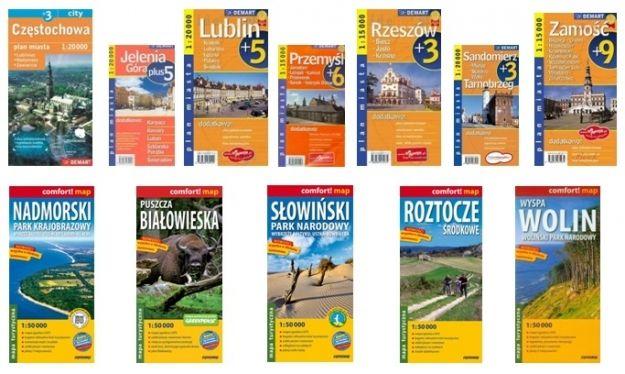 Kilkaset nowych map i przewodników w Wypożyczalni Głównej rzeszowskiej biblioteki - Aktualności Rzeszów