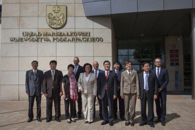 Chińska delegacja odwiedziła Rzeszów - Aktualności Rzeszów