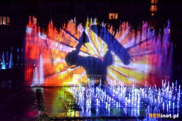 FOTO. Premierowe pokazy Fontanny Multimedialnej (zobacz fragmenty) - Aktualności Rzeszów
