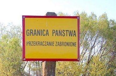 Nielegalne fotki przy ukraińskim słupku granicznym w Bieszczadach - Aktualności Podkarpacie