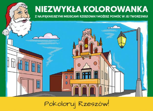 Powstanie edukacyjna kolorowanka dla dzieci o zabytkach i obiektach turystycznych Rzeszowa - Aktualności Rzeszów