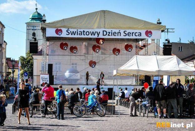 Światowy Dzień Serca. W niedzielę impreza na rzeszowskim Rynku - Aktualności Rzeszów