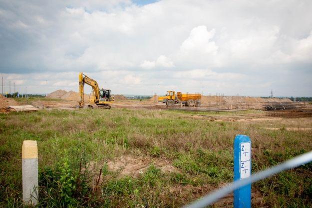 Pierwsza firma prowadzi budowę na terenie Parku Naukowo Technologicznego Rzeszów - Dworzysko - Aktualności Rzeszów