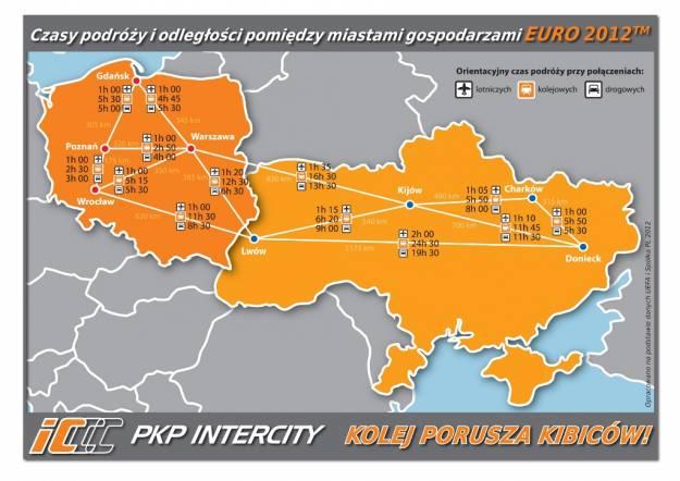 Dodatkowe pociągi na Euro 2012 - Aktualności z Kraju
