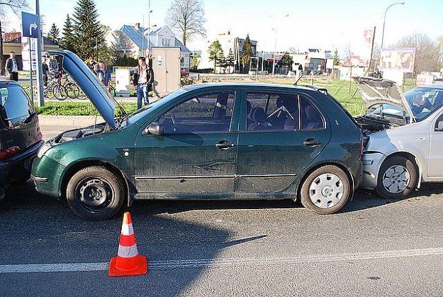 Karambol na ul. Podkarpackiej w Krośnie - Aktualności Podkarpacie