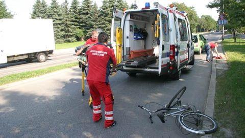 Coraz więcej wypadków z udziałem rowerzystów - Aktualności Podkarpacie